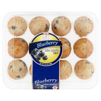Cafe Valley Mini Muffins - Blueberry, 10 Ounce