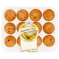 Cafe Valley Cafe Valley Mini Muffins - Banana, 10 Ounce