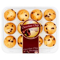 Cafe Valley Cafe Valley Mini Chocolate Chip Muffins, 10 Ounce