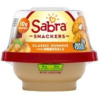 Sabra Hummus with Pretzel Crisps To Go - Classic, 4.3 Ounce