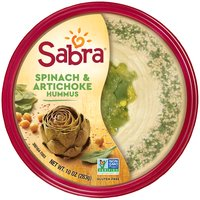 Sabra Spinach & Artichoke Hummus, 10 Ounce