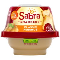 Sabra Classic Hummus with Pita Chips, 4.56 Ounce