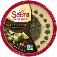 Sabra Sabra Salsa Verde Hummus, 10 Ounce