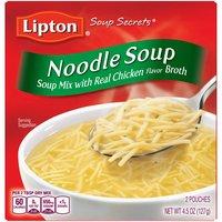Lipton Soup Secrets Noodle Instant Soup Mix, 4.5 Ounce