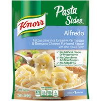 Treat your taste buds with Knorr Pasta Sides Alfredo Pasta (4.4oz). Our pasta side dish expertly combines cheesy flavors with creamy sauce goodness.