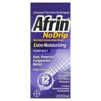 Afrin Extra Moisturizing Nasal Decongestant Pump Mist, 0.5 Fluid ounce