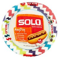Solo All Occasion Plates - 8 1/2 inch, 44 Each