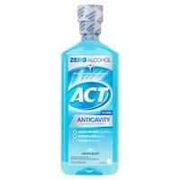 ACT Anticavity Arctic Blast Mouthwash, 18 Fluid ounce