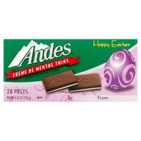 Andes Creme De Menthe Thins, 4.67 Ounce