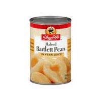 ShopRite Halved Bartlett Pears in Pear Juice, 15 Ounce