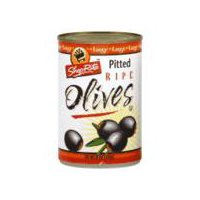 ShopRite Ripe Olives - Large Pitted, 6 Ounce