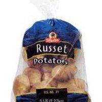 Russet Potatoes 5 LB, 5 Pound
