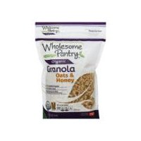 Wholesome Pantry Organic Oats & Honey Granola, 12 Ounce