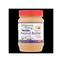 Wholesome Pantry Organic Creamy Salted Valencia Peanut Butter, 16 Ounce