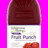 Wholesome Pantry Organic Fruit Punch, 64 Fluid ounce
