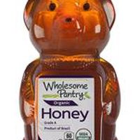 Wholesome Pantry Organic Honey Bear, 12 Ounce