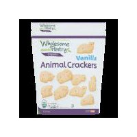 Wholesome Pantry Organic Vanilla Animal Crackers, 16 Ounce