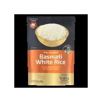 Imported from India. Aromatic White Basmati Rice from the Indian Foothills.