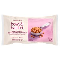 Bowl & Basket Butterscotch Flavored Baking Chips, 11 oz