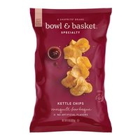 Bowl & Basket Specialty Mesquite Barbeque Kettle Chips, 8 oz