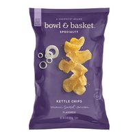 Bowl & Basket Specialty Maui Sweet Onion Flavored Kettle Chips, 8 oz
