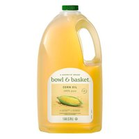 Bowl & Basket 100% Pure Corn Oil, 1 gal