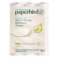 Paperbird Bathroom Tissue Rolls Soft & Strong, 12 Each