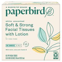 Paperbird Facial Tissues Soft & Strong with Lotion, 1 Each