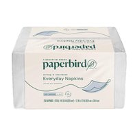 Paperbird Everyday Napkins Strong & Absorbent 1-Ply, 250 Each