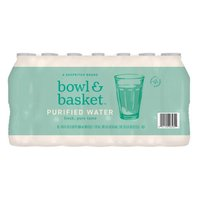 Bowl & Basket Purified Water, 16.9 fl oz, 35 count