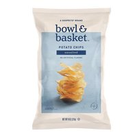 Bowl & Basket Unsalted Potato Chips, 8 oz