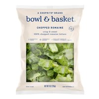 Crisp & Sweet 100% Chopped Romaine Lettuce