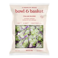 Bowl & Basket Italian Blend Crunchy Romaine Lettuce & Red Cabbage, 9 oz