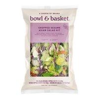 Bowl & Basket Sesame Asian Salad Kit Chopped, 12 Ounce
