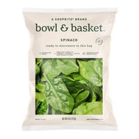 Bowl & Basket Spinach, 8 oz