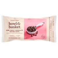 Bowl & Basket Baking Chips Semi-Sweet Chocolate, 24 Ounce