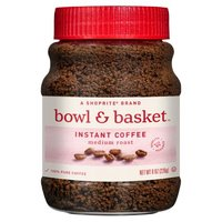 Bowl & Basket Medium Roast Instant Coffee, 8 oz