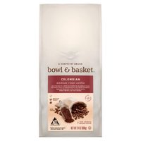 Bowl & Basket Coffee Colombian Medium Roast, 24 Ounce