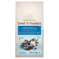 Bowl & Basket Coffee French Vanilla Medium Roast, 12 Ounce
