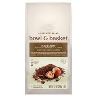 Bowl & Basket Coffee Hazelnut Medium Roast, 12 Ounce