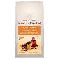 Bowl & Basket Coffee Maple Bourbon Medium Roast, 12 Ounce