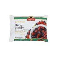Whole strawberries, blackberries, blueberries and red raspberries. Grade A fancy.