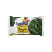 ShopRite Steam in Bag - Broccoli Florets, 12 Ounce
