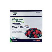 Wholesome Pantry Organic Frozen Mixed Berries with Strawberries, 10 Ounce