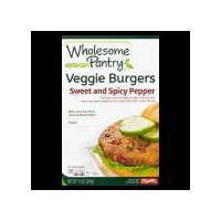Wholesome Pantry Veggie Burger - Sweet and Spicy Pepper, 10 Ounce