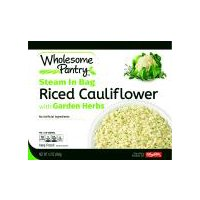 Wholesome Pantry Riced Cauliflower with Garden Herbs, 12 Ounce