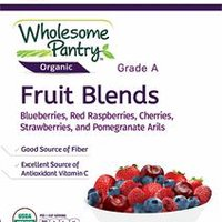 Includes a mix of blueberries, red raspberries, cherries, strawberries & Pomegranate Arils. Good source of fiber. Excellent source of antioxidant Vitamin C. (32 oz)