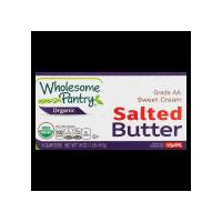 Grade AA. USDA organic. Per 1 tbsp Serving: 100 calories; 7 g sat fat (33% DV); 75 mg sodium (3% DV); 0 g sugars. Specially packed for ShopRite. 4 individually wrapped quarters.