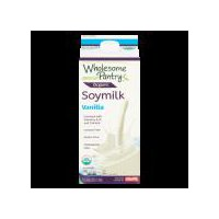 Wholesome Pantry Organic Vanilla Soy Milk, 64 Fluid ounce