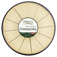 Wholesome Pantry New York Style Cheesecake, 12 count, 2 lb 8 oz